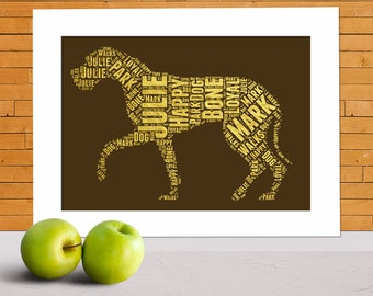 Great dane print, great dane present, great dane gifts