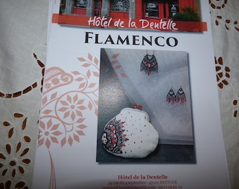 Lace, jewelry and coin Flamenco