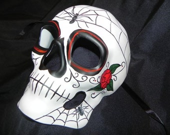 Day of the Dead Halloween Mask - Men's Mask - Made to Order!