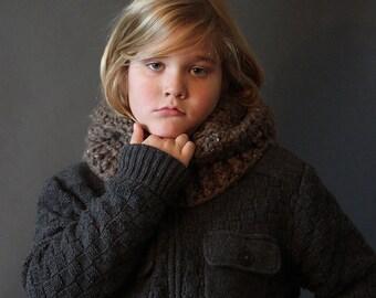 Crochet PATTERN  Hooded Bear Cowl Crochet Hood Pattern Includes Sizes 1 Year to Adult