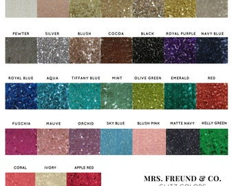 GLITZ Sequin Fabric (by the yard)