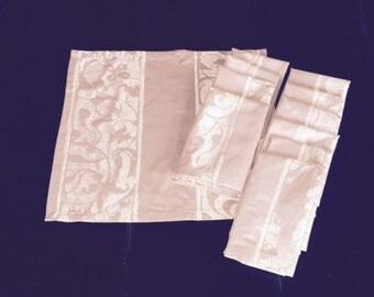 Set of 10 Fabric Dinner Napkins