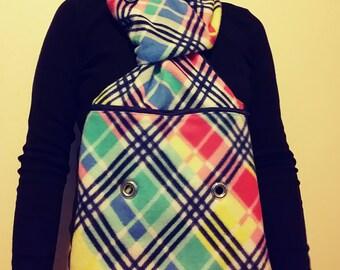 Colorful bonding scarf