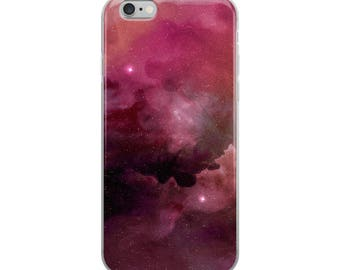 Purple Outer Space iPhone Case