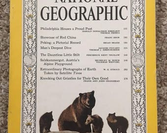 National Geographic from August 1960  Very cool. Excellent condition.