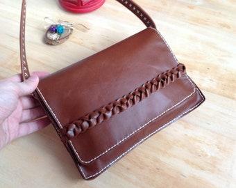 Personalized leather bag leather handbag leather shoulder bag