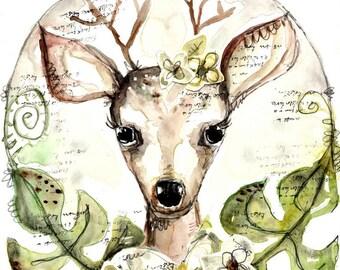 Deer You- art print