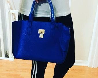 Blue Bag, Women Bags, Blue Bags, Fashion Bag, Blue Purse, Blu Clutches, Valetines gift, Women purses