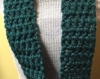 Dark Green Infinity Scarf