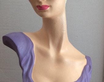 Styrofoam Mannequin Head - Hand Painted
