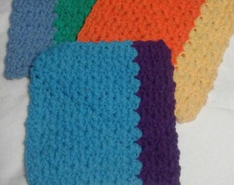 Crocheted Cleaning Cloths - Set of 3