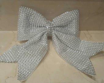 1 big bow rhinestone 20 cm