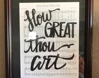 Hymnal Keepsakes