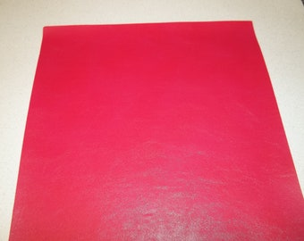 Hot Pink  Faux Leather Sheet - DIY - Vinyl sheet - Hair Bows - Headbands - Hair Clips - Embroidery, Journal Covers, Jewelry, coin purses