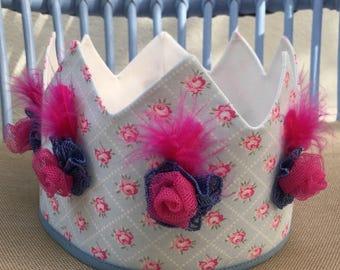 Fabric crown. Fabric Crown