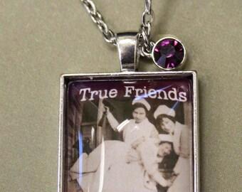 True Friends Pendant Necklace