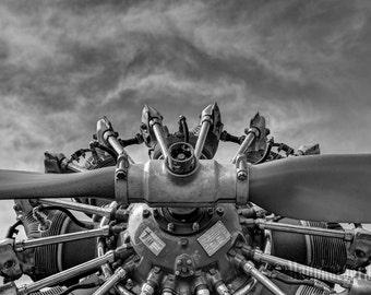 Aviation Decor - Aircraft Propeller - Airplane Art
