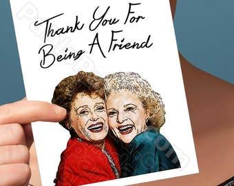 Card For Boyfriend | Golden Girls | Rose Birthdays Card Dad Birthday For Her Boyfriend Gift Girlfriend Gift Card For Girlfriend Friend BFF
