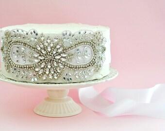 Sale BRIDAL RHINESTONE SASH , wedding rhinestone sash, bridal crystal sash, wedding crystal sash, bridal rhinestone belt,rhinestone belt