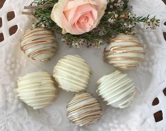 Truffles, Truffle Pops, and Macarons
