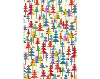 Laurel Burch Fabric Enchantment Trees on Ivory 1 Yard Y1969-57M