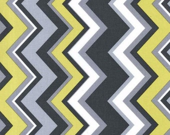 Michael Miller Chevy in Citron fabric, CX6222, 1 yard