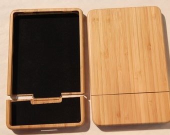 Kindle Fire Natural Wood Bamboo Case