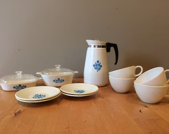 Vintage Corning Ware Toy Dish Set