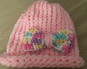 Beanie, Baby, Toddler , Loom Knit