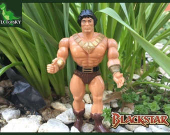 Vintage 1983 Blackstar Action Figure from Galoob