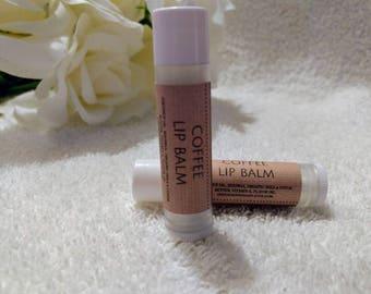 Coffee Lip Balm~Coffee Lip Gloss~Organic lip balm~Coffee Flavor Lip Balm~Flavored Lip Balm~