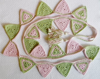 Crochet bunting made to order