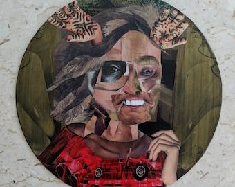 Ms.Matched- Original Vintage Record Art