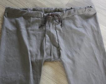 Thorsberg trousers linen - light green