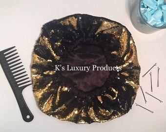 Luxurious Gold Bonnet