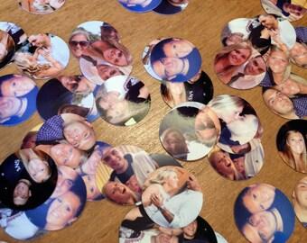 400 Pieces! High Quality Custom Photo Confetti. Custom Photofetti Picture Confetti