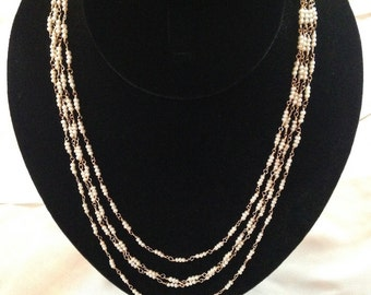 Byzantine Pearl Necklace