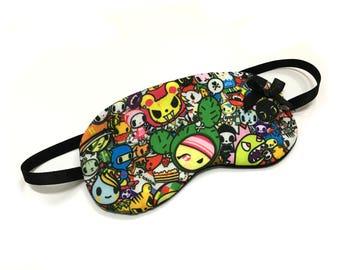 Sleep mask beauty mask kawaii Japan Comic