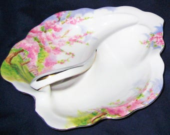 Royal Albert - Blossom Time - Leaf Dish