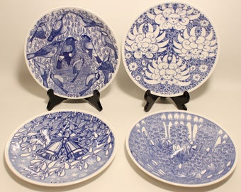 Gustavsberg Sven Jonson Christmas Plate of youre choice 1972,1973,1978,1980