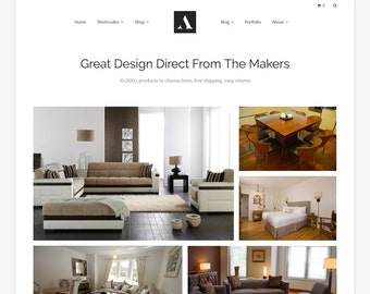 Astana - Responsive Minimalist WooCommerce WordPress Theme - Online Shop Theme