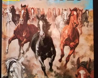 The How and Why Wonder Book of Horses 1960s