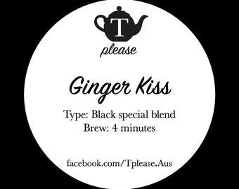 Ginger Kiss loose leaf tea