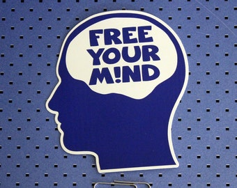 Free Your Mind Bumper Sticker