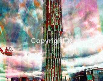 Beethams Tower Manchester No1 - Print Run of 100