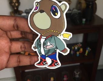 Air Yeezy Kanye West AD Vinyl Sticker