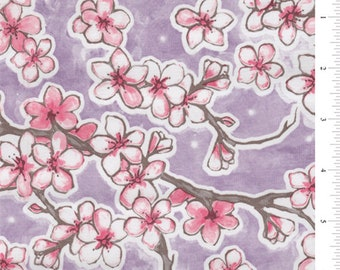 Dogwood Oilcloth, Fabric By The Yard