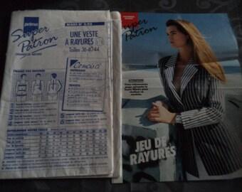 pattern jacket size 36-40-44 new uncut