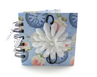 It's Spring Time Gratitude Book, gratitude journal, thank you book, thank you journal, gratitude diary, blessings book - sky blue