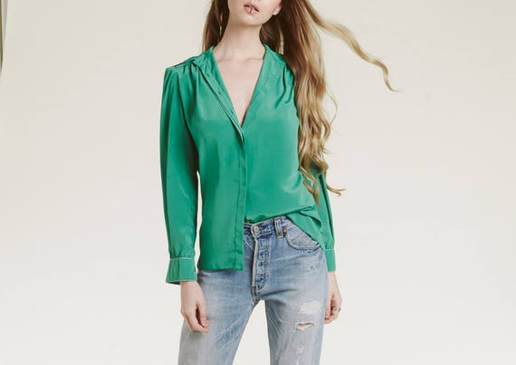st john 70s blouse